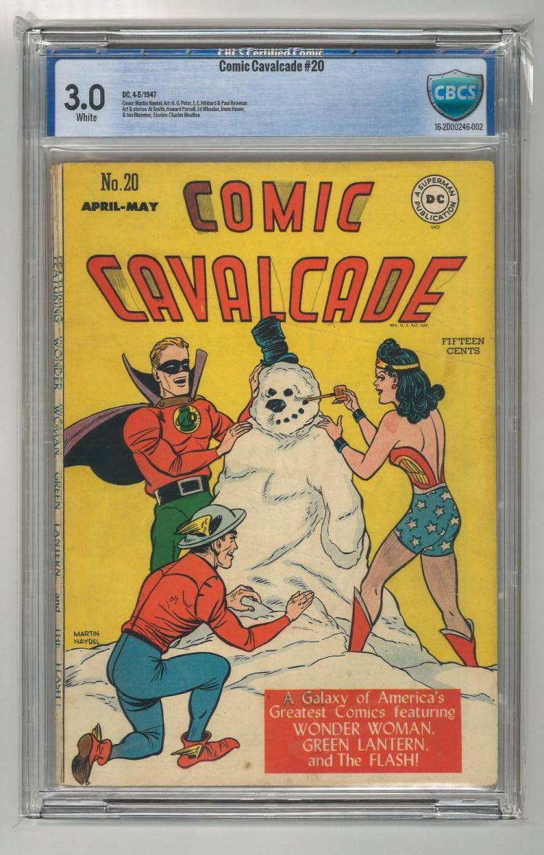CBCS 3.0 Comic Cavalcade #20 1947