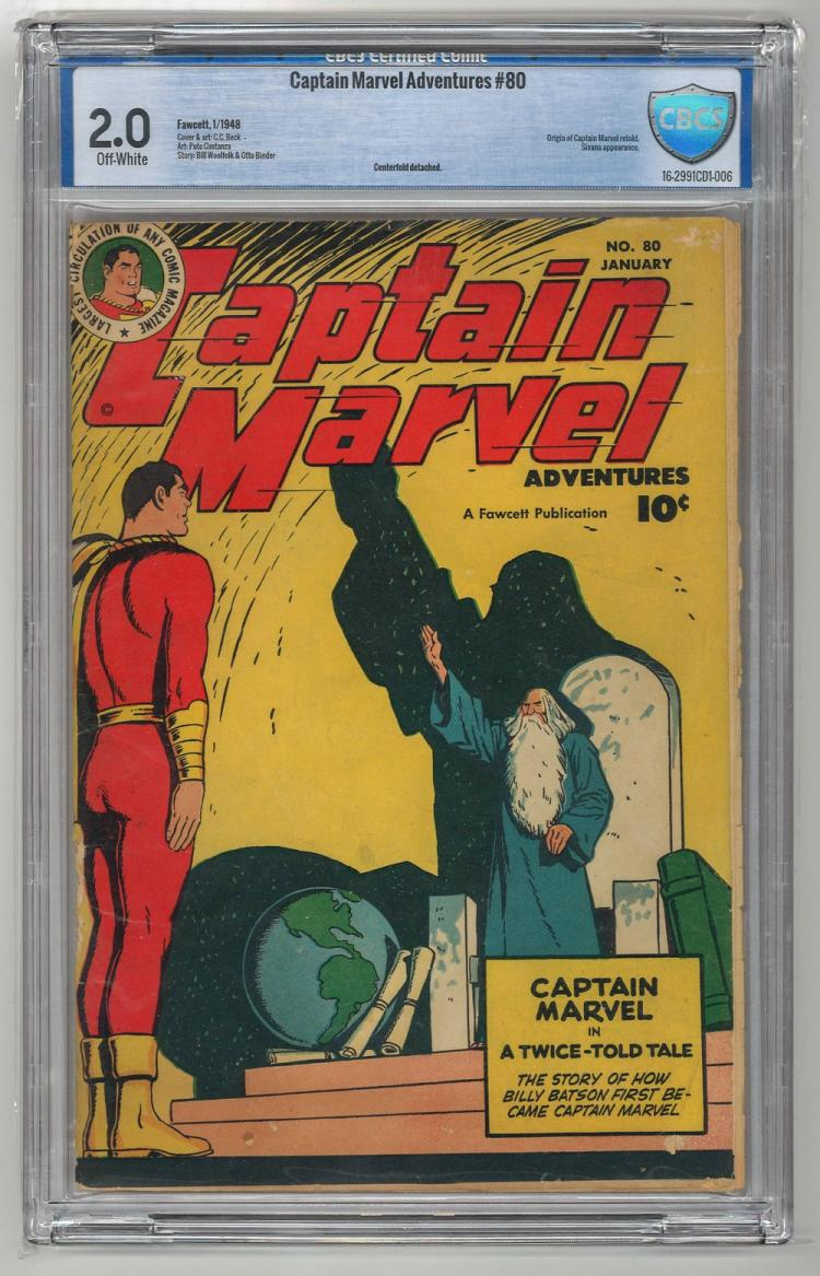 CBCS 2.0 Captain Marvel Adventures #80 1948