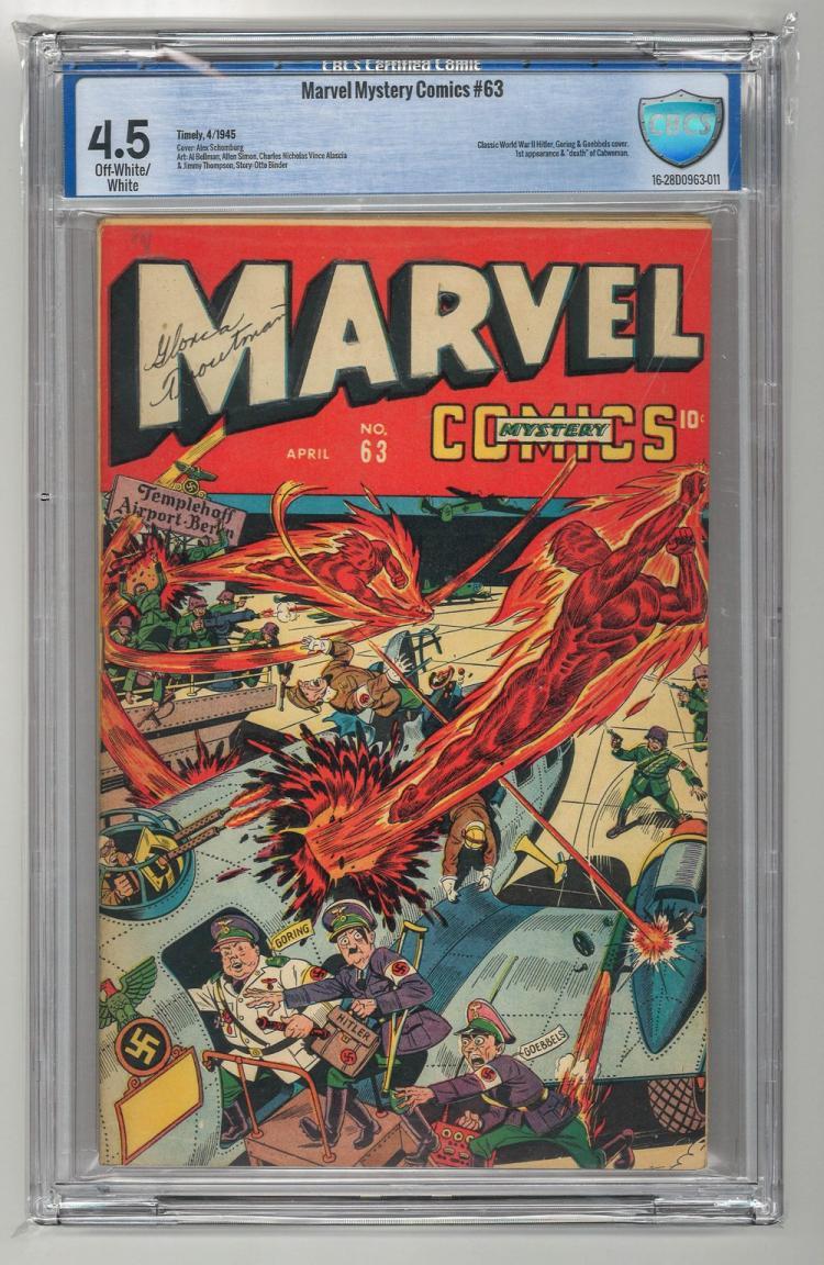 CBCS 4.5 Marvel Mystery Comics #63 1945