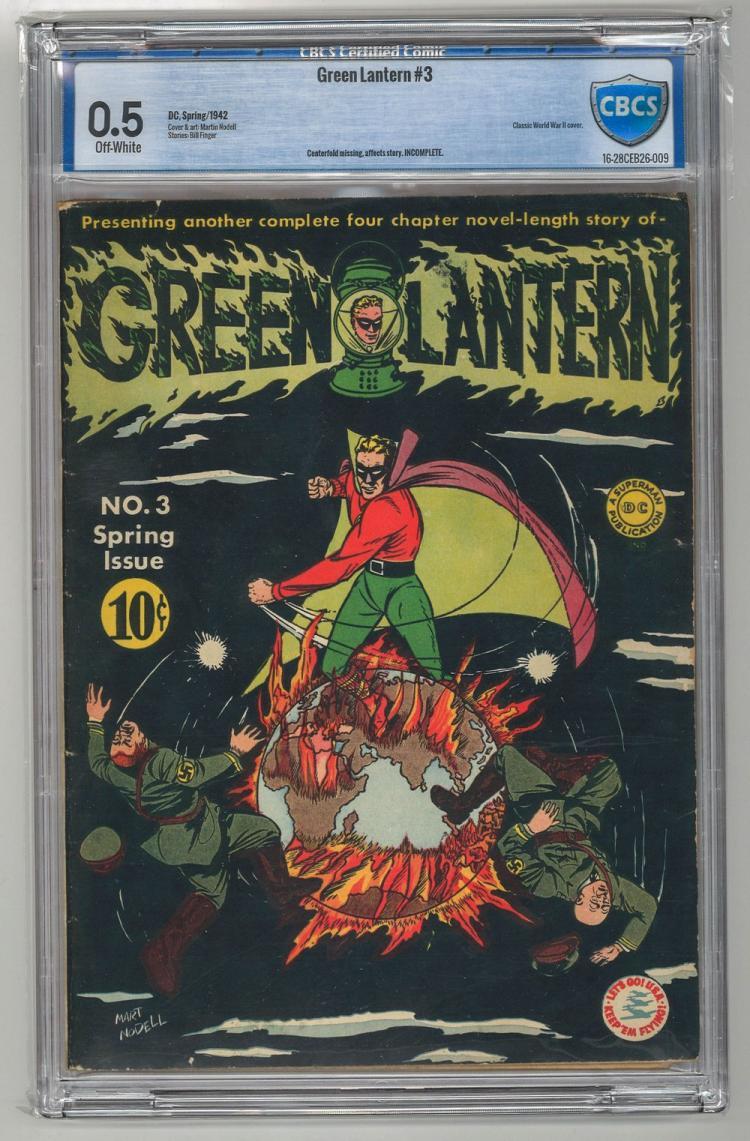 CBCS 0.5 Green Lantern #3 1942