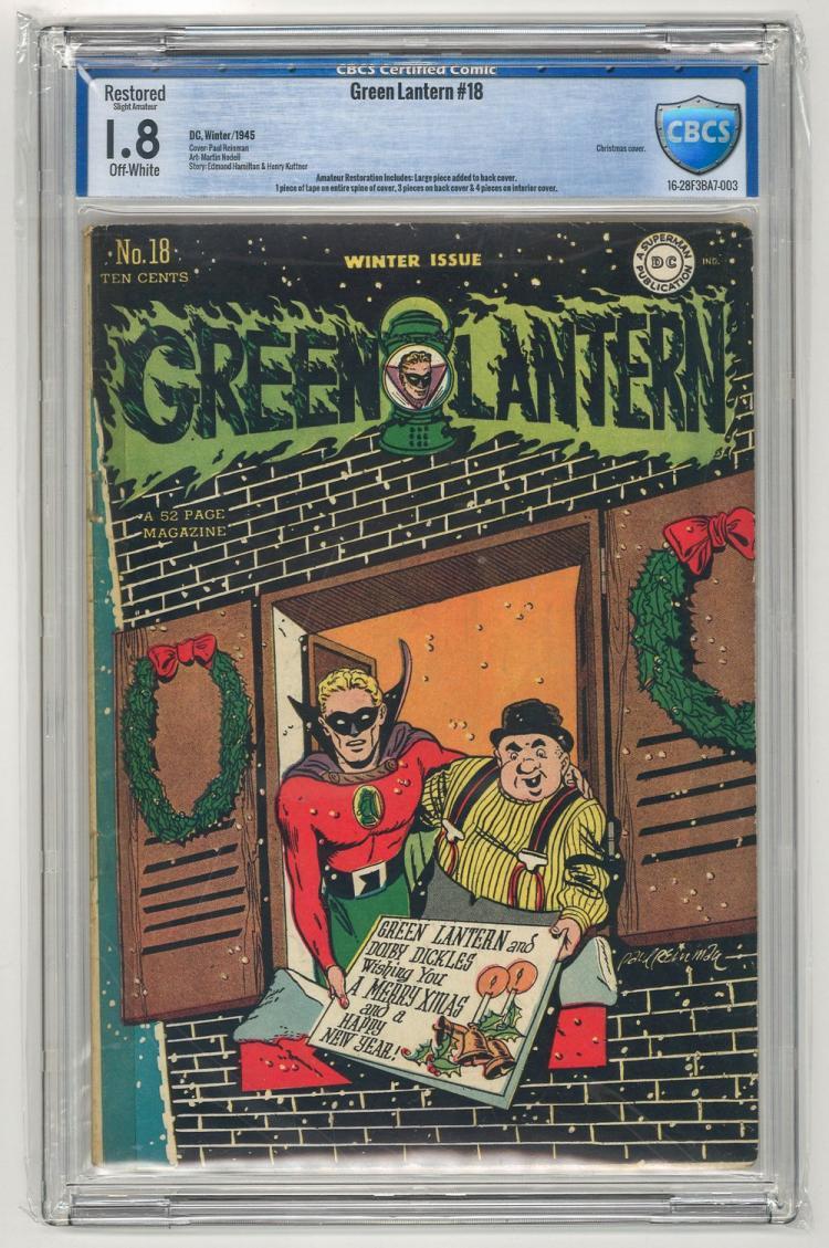 CBCS 1.8 Green Lantern #18 1945