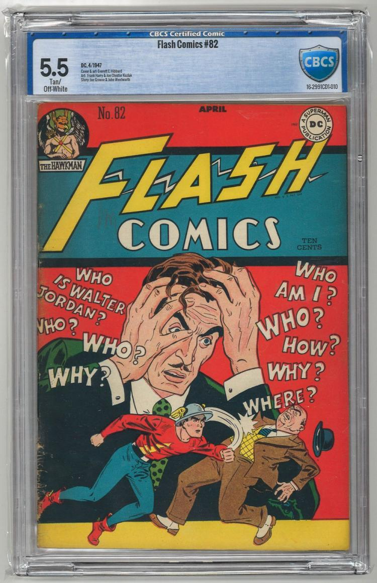 CBCS 5.5 Flash Comics #82 1947