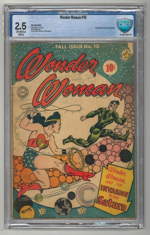 CBCS 2.5 Wonder Woman #10 1944