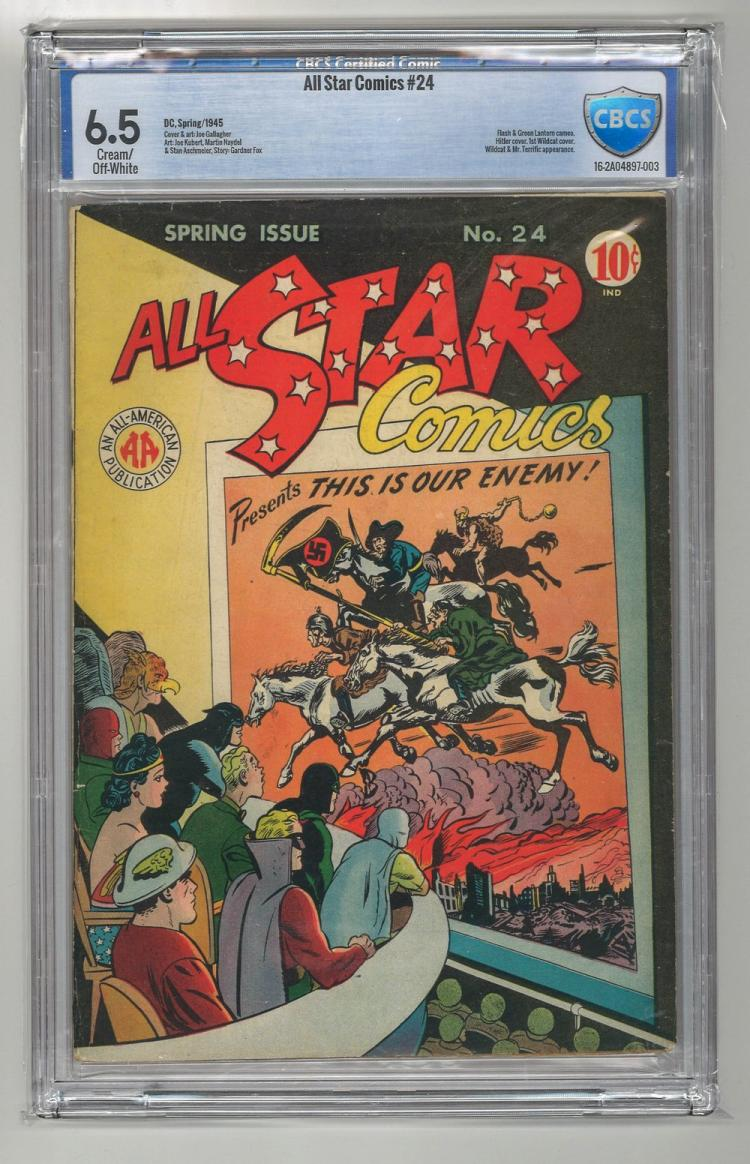 CBCS 6.5 All Star Comics #24 1945