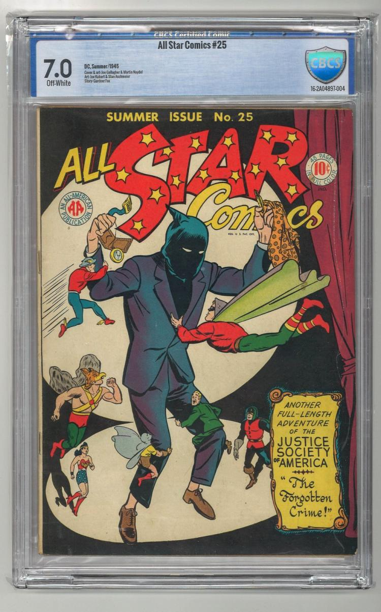 CBCS 7.0 All Star Comics #25 1945