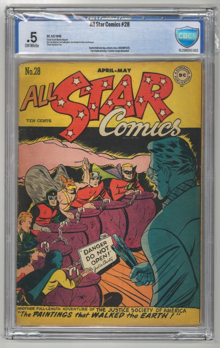 CBCS 0.5 All Star Comics #28 1946