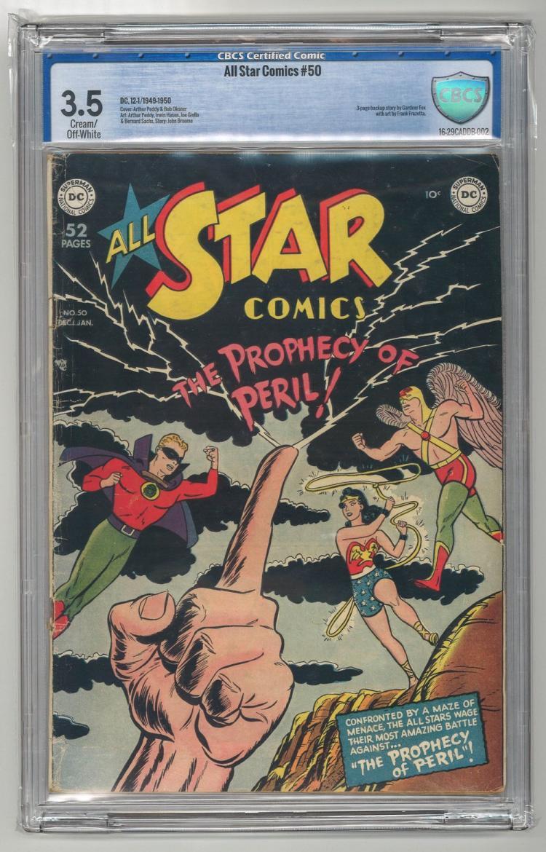 CBCS 3.5 All Star Comics #50 1949-1950
