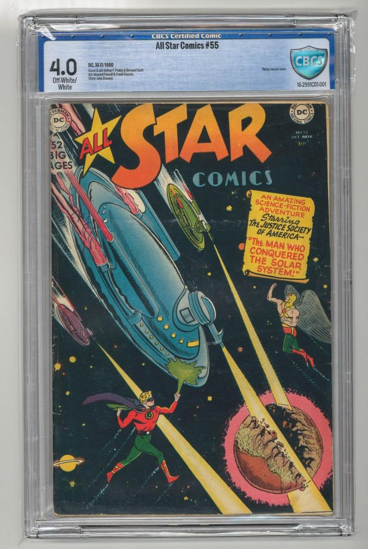 CBCS 4.0 All Star Comics #55 1950