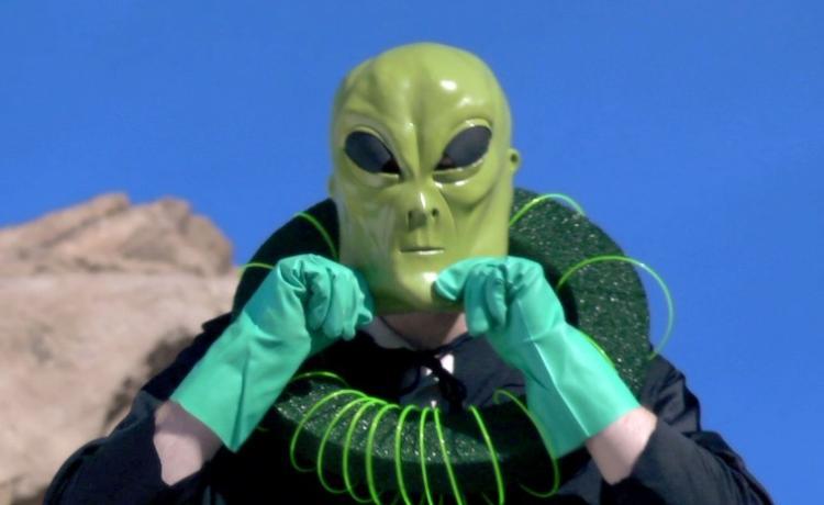 AVGN Movie James Rolfe Alien Costume