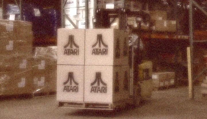 AVGN Movie Props - Atari Boxes