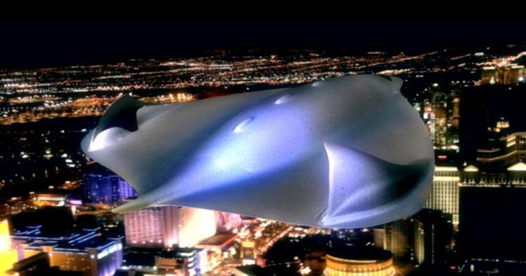 AVGN Movie Props - UFO Model