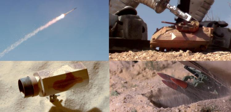 AVGN Movie Props - Planes Missiles & Other Minis