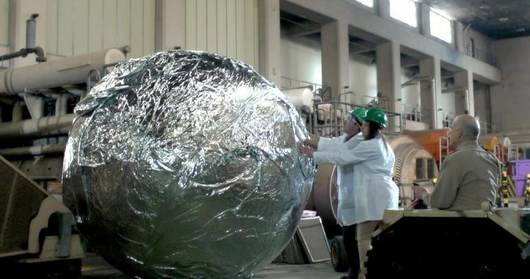 AVGN Movie Props - Foil Ball