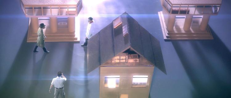 "AVGN Movie Props - Area 51 ""E.T. Room"" Buildings"