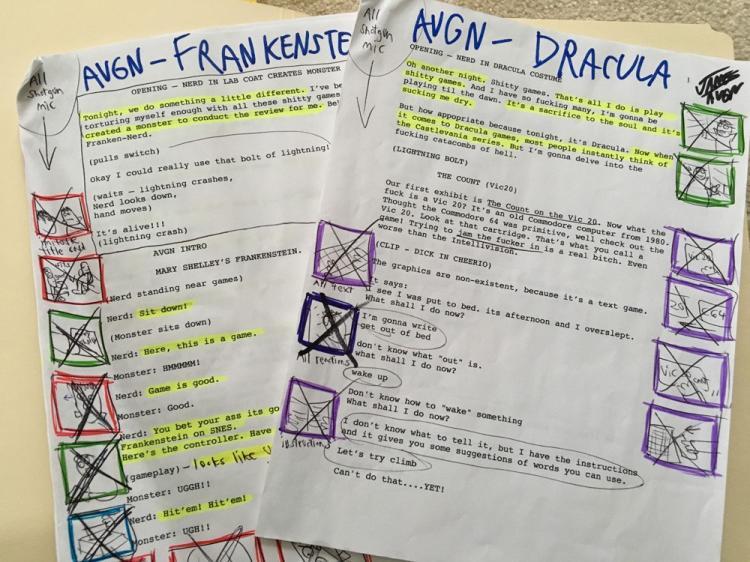 AVGN Episode Script - Dracula / Frankenstein