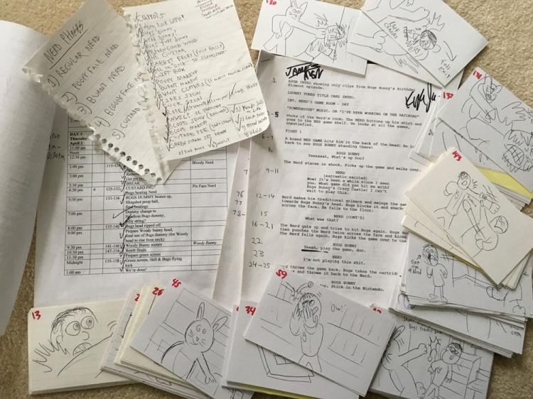 AVGN Crazy Castle Script, Schedule, Storyboards
