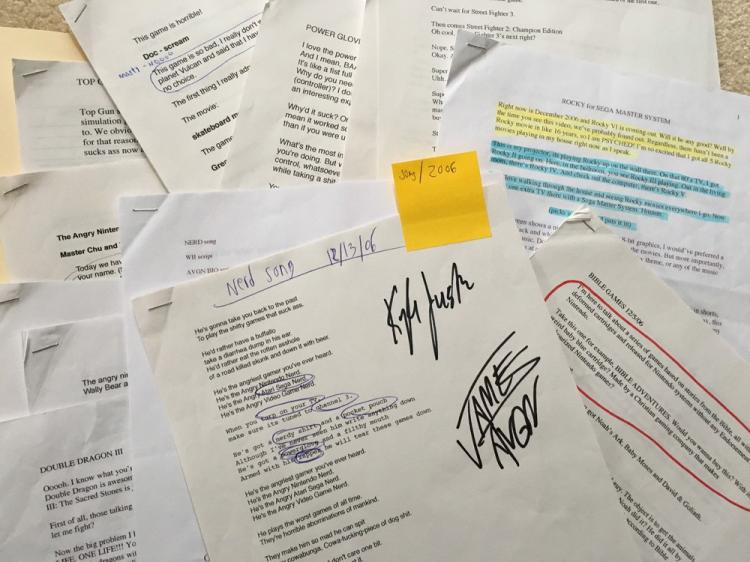 AVGN Assorted Scripts 2006