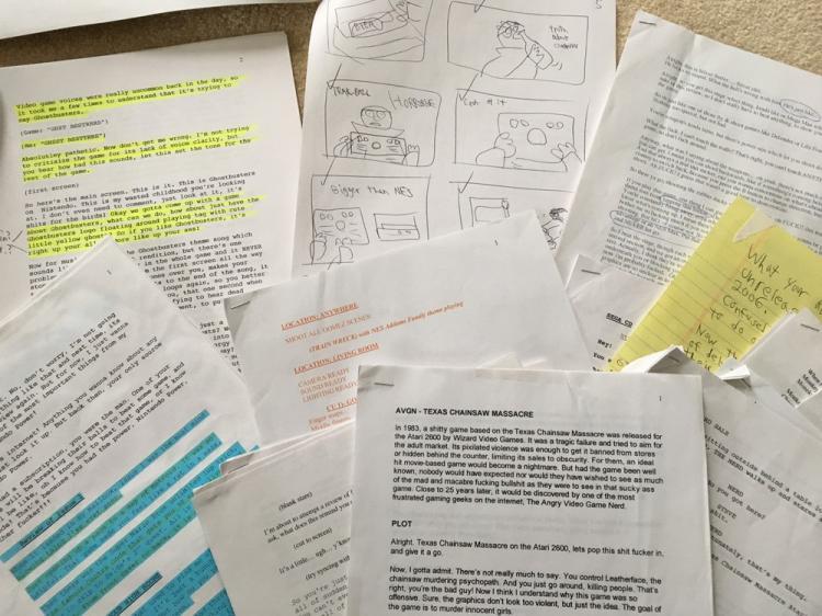 AVGN Assorted Scripts 2007