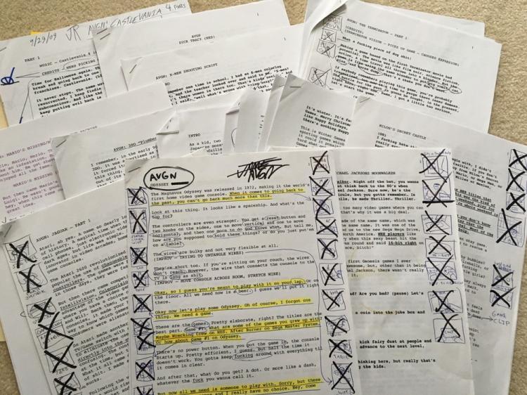AVGN Assorted Scripts 2009