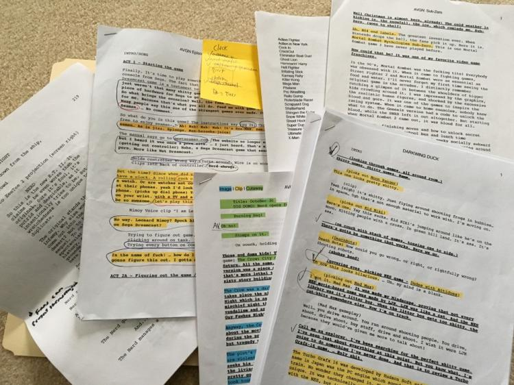 AVGN Assorted Scripts 2014 / 2015