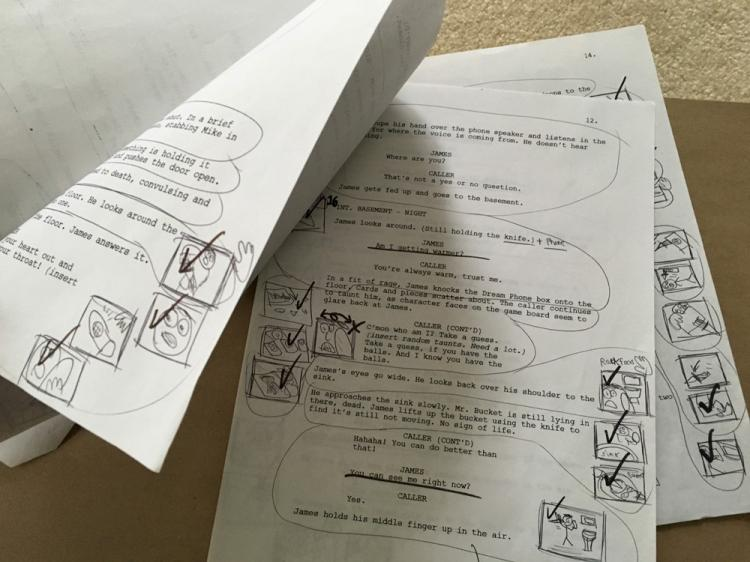 AVGN Episode Board James DreamPhone Script (2013)