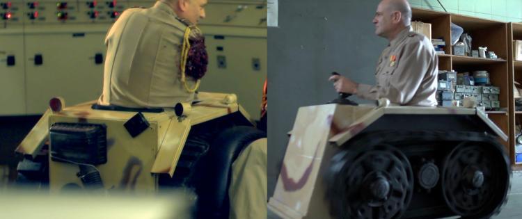 AVGN Movie General Dark Onward's Tank Chair