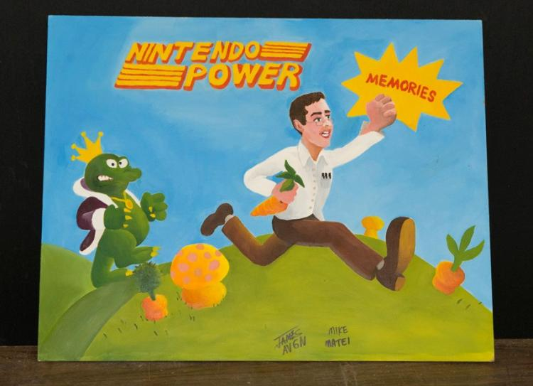 Nintendo Power Episode Title card 2007 Orig Art