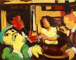 Andrew Smith (Scottish, b.1936) - 'THE DESPERADOS'