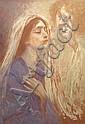 Jan Styka (French, 1858-1925) - 'L'HUMANITE' - oil, Jan Styka, Click for value