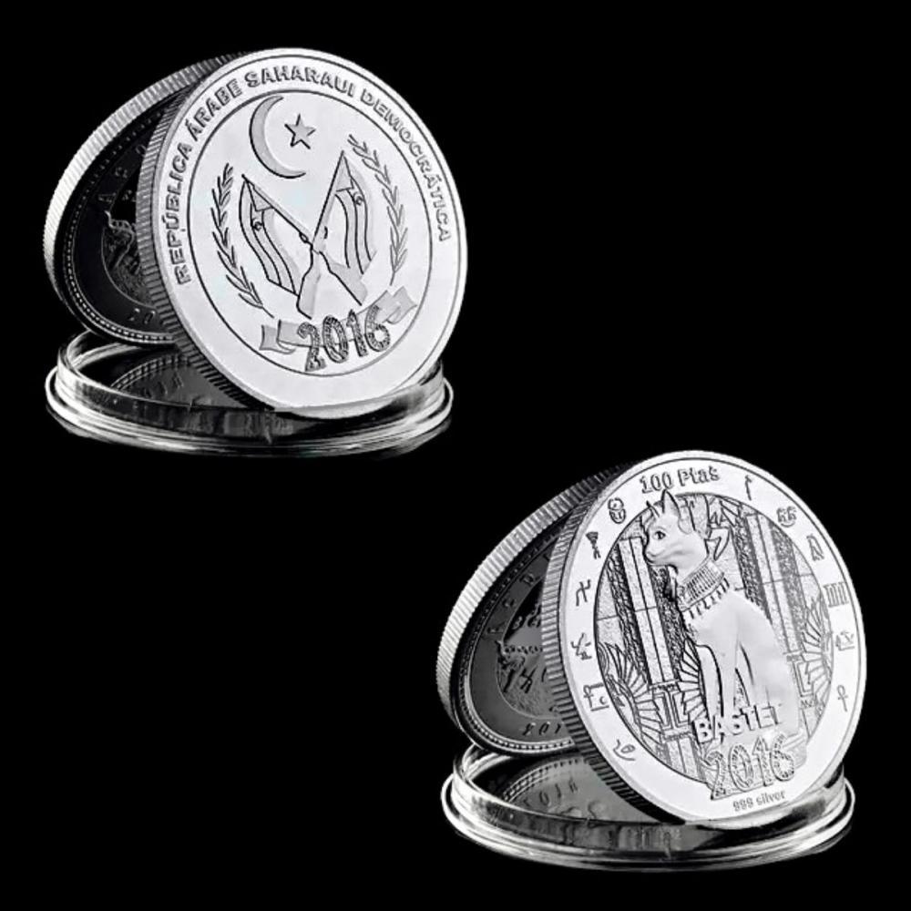 Egyptian BASTET Encapsulated .999 Silver Clad Coin