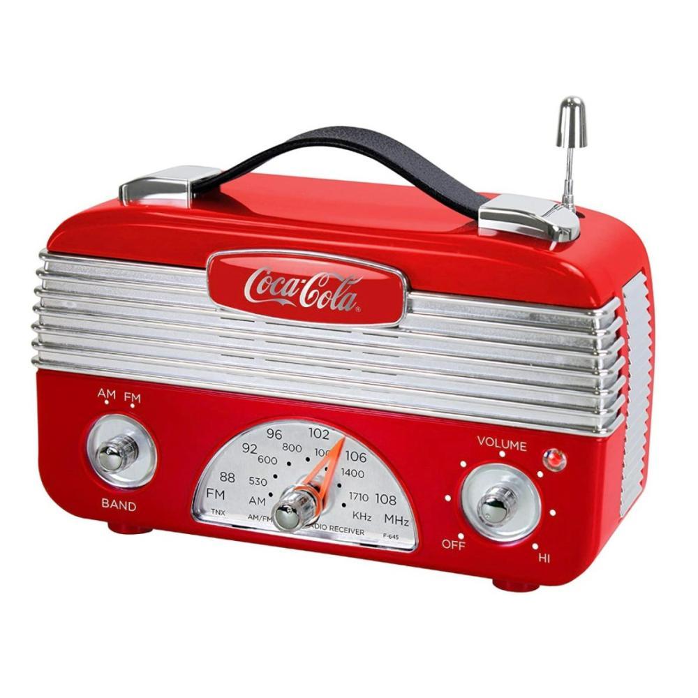 Retro Working COCA-COLA Nostalgic AM/FM Radio