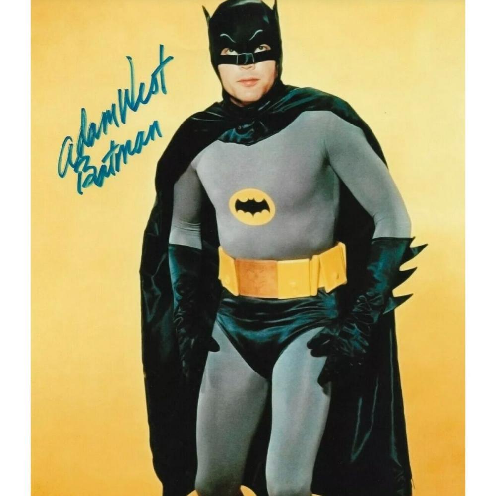 Adam West as BATMAN 8 x 10 Autographed Photo