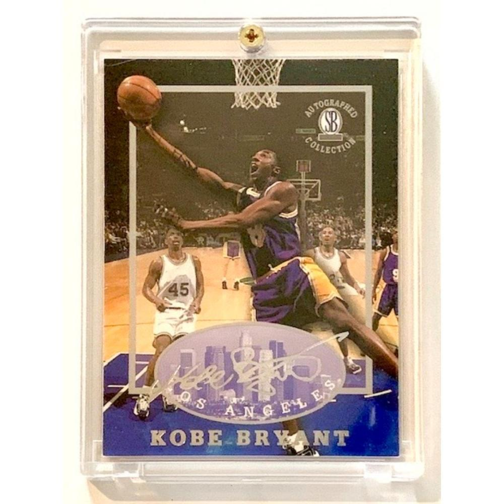1996/97 KOBE BRYANT Autographed Collection Rookie Card