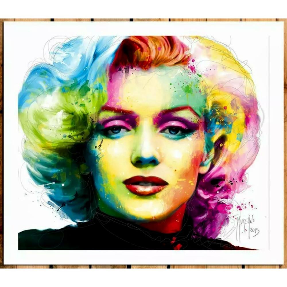 Signed MARILYN MONROE Giclee Canvas Art Print