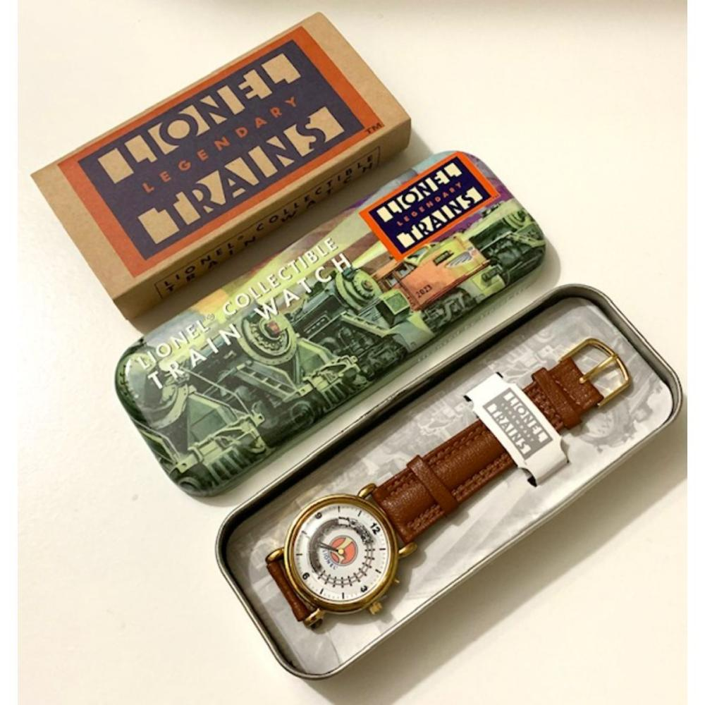 LIONEL TRAINS Legendary Watch w/Original Tin & COA