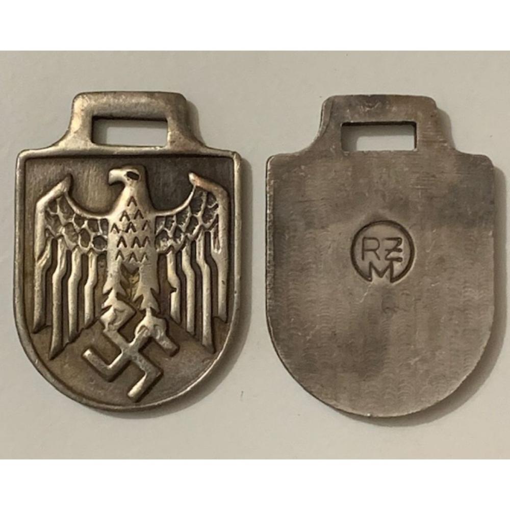 German WW2 Reichsadler Eagle Tag/Fob