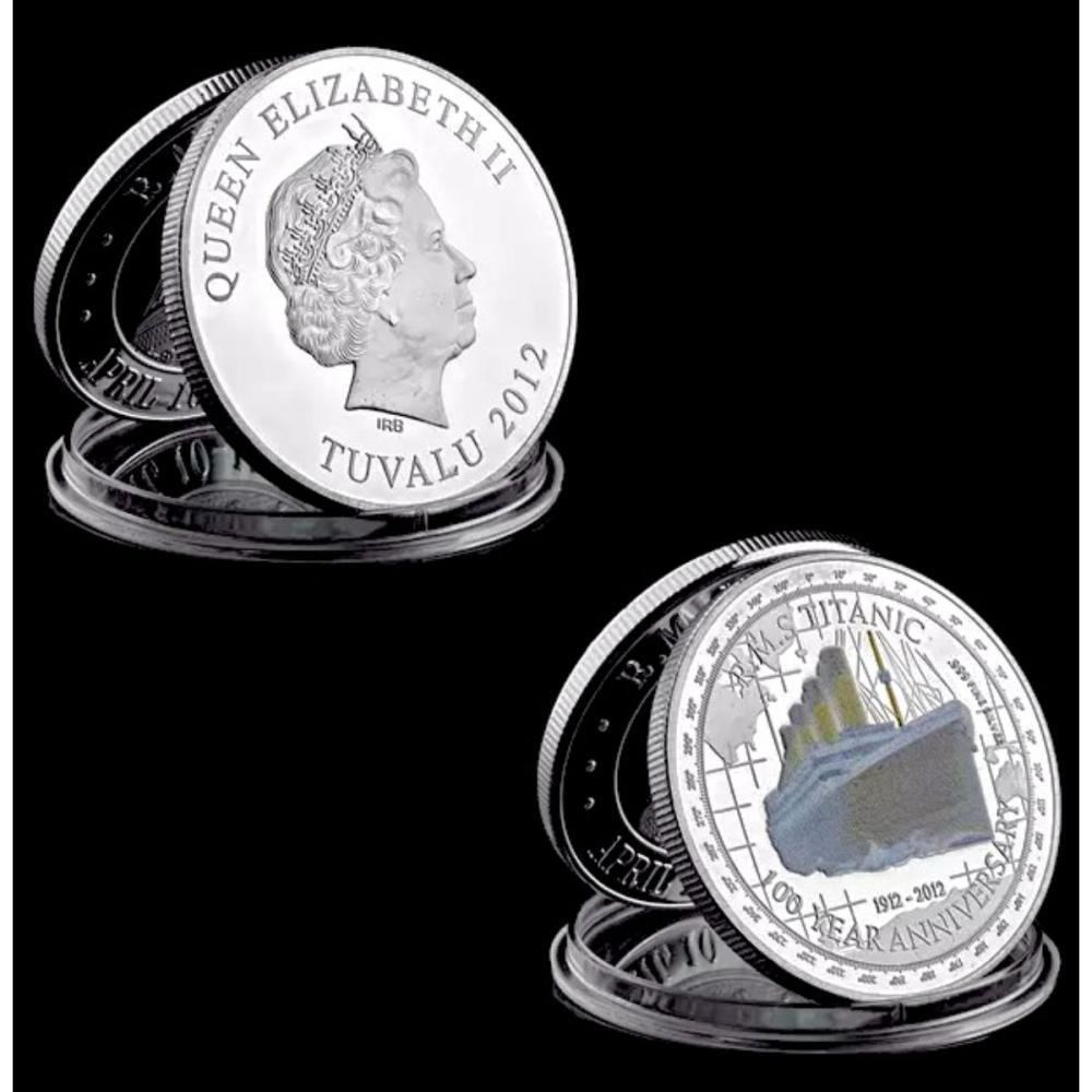 2012 TITANIC 100 Year Commemorative .999 Silver Coin