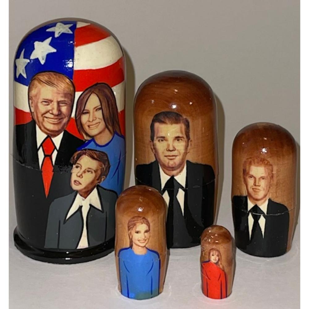 DONALD TRUMP Russian Made Nesting Dolls