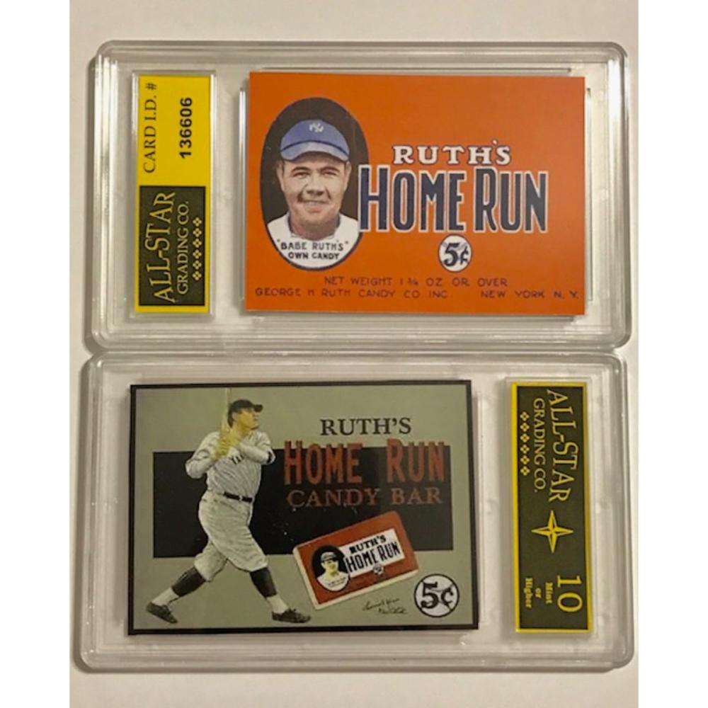 BABE RUTH Candy Bar Advertising Baseball Card