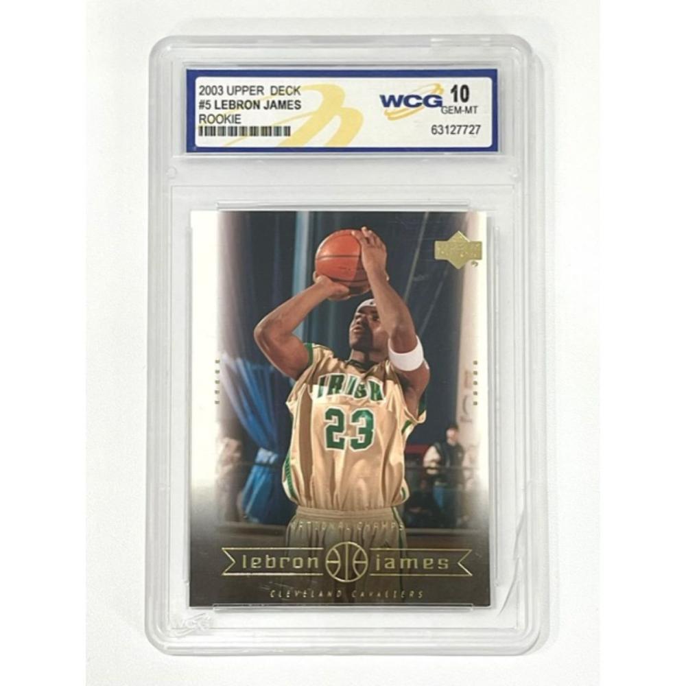 Gem Mint 10 LEBRON JAMES Rookie Basketball Card