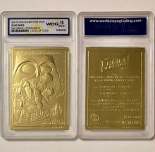 "STAR WARS ""Empire Strikes Back"" 23kt Gold Foil Trading Card"