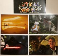 Lot of 4 Authentic STAR WARS Movie Lithographs w/Jacket