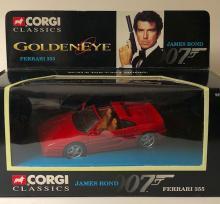 Sealed CORGI Toys Die-Cast 007 James Bond FERRARI 355