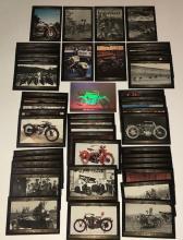 Lot of 45 Vintage Original HARLEY DAVIDSON Trading Cards