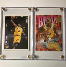 Lot of 2 Mint KOBE BRYANT Rookie Basketball Cards