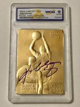 23k Gold Foil Purple Signature KOBE BRYANT Rookie Card