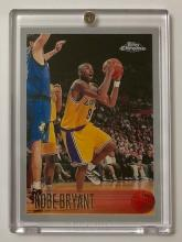 1st KOBE BRYANT 1996 Topps Chrome Rookie Basketball Card
