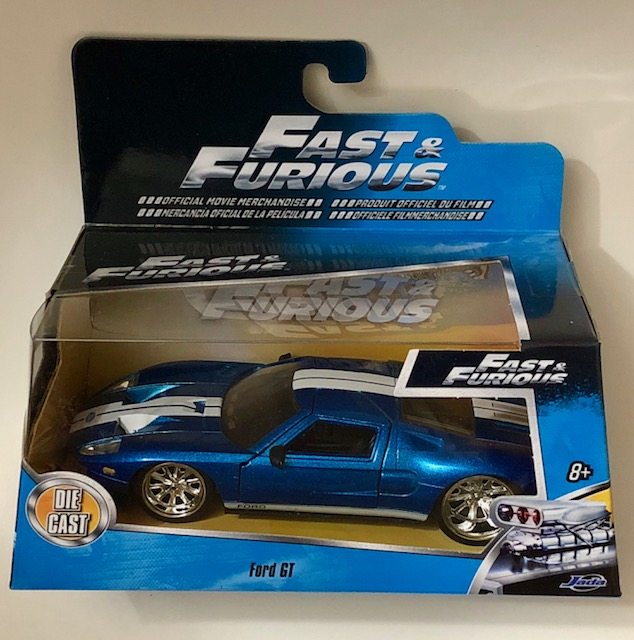 Lot  Fast Furious Ford Gt Cast Car By Jada Toys