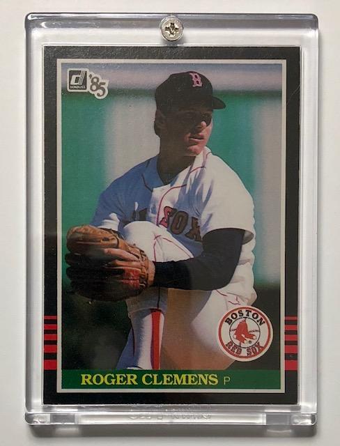 Roger Clemens 1985 Donruss Rookie Baseball Card