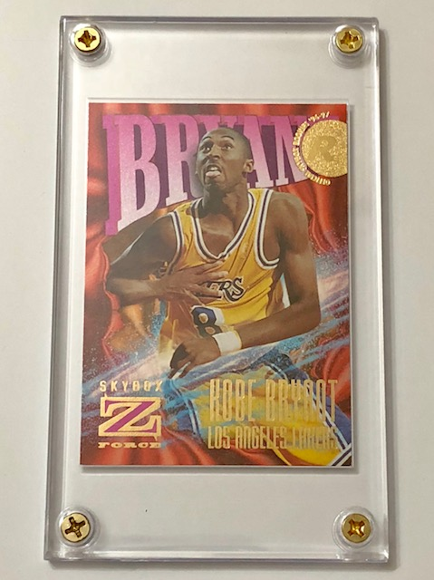 Mint 1996 97 Kobe Bryant Skybox Rookie Basketball Card